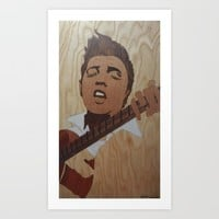Elvis Presley  Art Print by Andulino