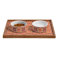 Chobopop Woven Rug No 1 Pet Bowl and Tray