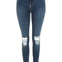 TALL Mid Stone Ripped Jamie Jeans | Topshop