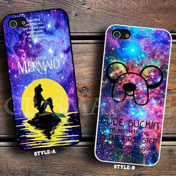 The Little mermaid Galaxy Nebula & Galaxy Nebula Adventure Time Quotes