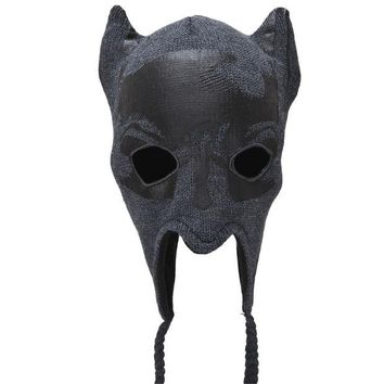 DCCKU3R Batman - Mask Peruvian Knit Hat