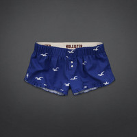 Rockpile Flannel Sleep Shorts
