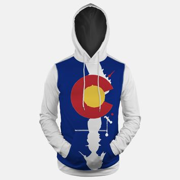 Colorado Beast State Flag Hoodie (Ships in 2 Weeks)