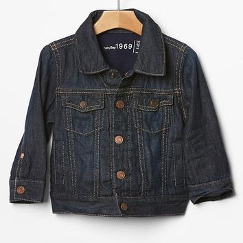 Gap Baby His First Denim Jacket