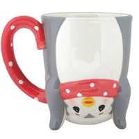 Precious Moments Upside Down Penguin Mug