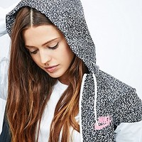 Nike Windrunner Jacket in Printed Black and White - Urban Outfitters