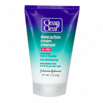 Clean & Clear Cream Cleanser, 1 oz.