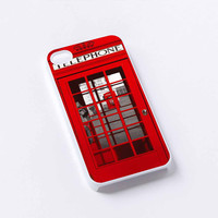 London Telephone Booth iPhone 4/4S, 5/5S, 5C,6,6plus,and Samsung s3,s4,s5,s6