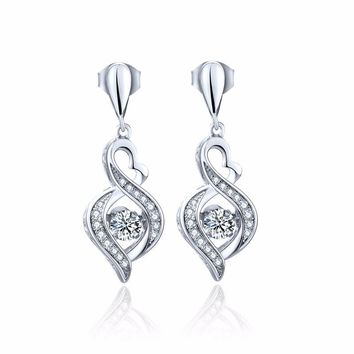 Women's Drop Sterling Silver Earrings