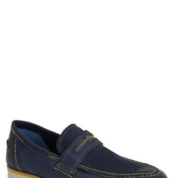 Men's Robert Graham 'Gansevoort' Leather Penny Loafer