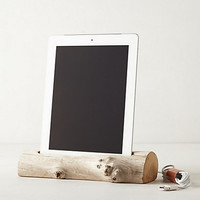 Driftwood iPad Dock