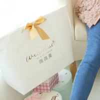 White Weiweimei Paper Bags