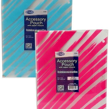Zippered Pencil Pouch for Binders - CASE OF 60