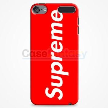 Supreme New York Clothing Skateboarding iPod Touch 6 Case | casefantasy