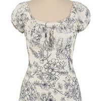 Floral Lace Ruffle Neck Top - maurices.com