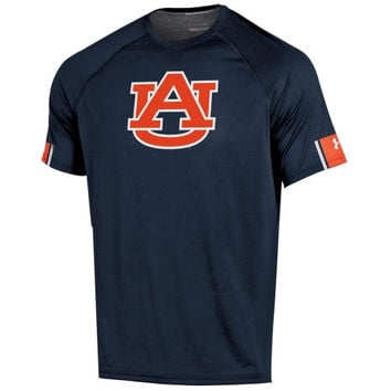 Auburn Tigers Under Armour Ultimate Performance T-Shirt – Navy Blue