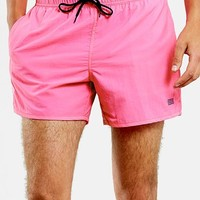 Men's Topman Nylon Swim Trunks,