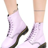 Orchid Purple Zip Pascal Boots