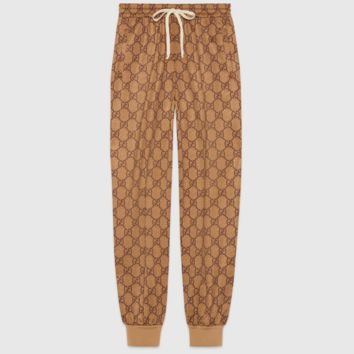 GUCCI Two Piece Suit Cardigan Jacket Coat With Long Pants More Print Double G