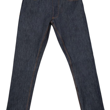 Indigo Selvedge, Slim, Tapered - Raw Cone White Oak Jeans