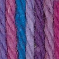 Lily Sugar 'N Cream Yarn, 2 Ounce, Jewels, Single Ball