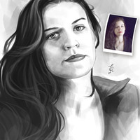 CUSTOM DIGITAL PORTRAIT of your photo, unique custom face portait digital painting, minimalist self portrait, unique sketchy digital art