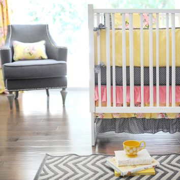 New Arrivals Lemon Drop Baby Bedding