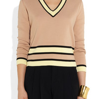 Marni | Knitted cotton sweater | NET-A-PORTER.COM