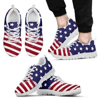 American Flag Sneakers - Men/Women/Kids