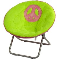 Peace Sign Saucer Chair | Room Accessories | Room Decor | Shop Justice