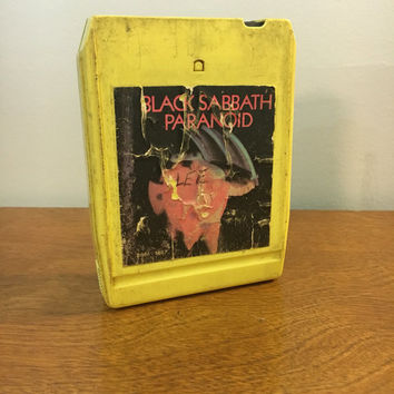 Black Sabbath: Paranoid, 8-track tape, Heavy Metal