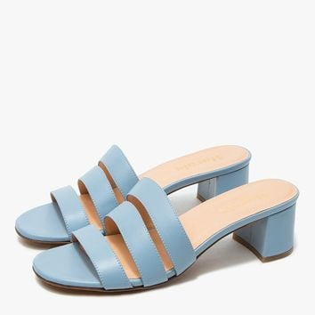 Marais USA / Jane Mule in Blue Napa Leather