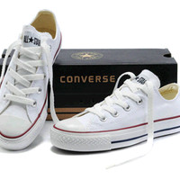 """Converse"" All-match Fashion Casual Male Female Classic Style Cloth Shoes Plate Shoes"