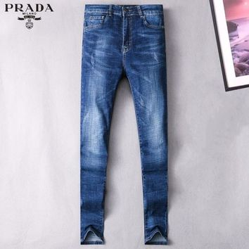 Boys & Men Prada Fashion Casual Pants Trousers Jeans