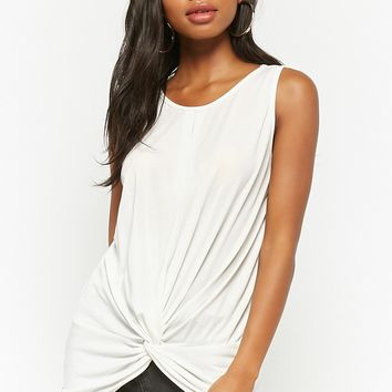 Twist-Front Keyhole Top
