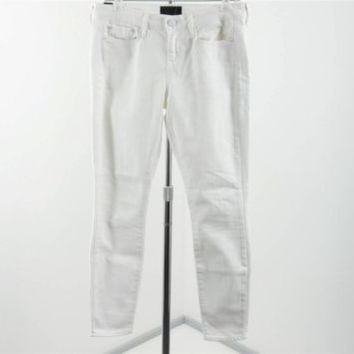 Vince White Cotton Skinny Ankle Jeans Pants Size 29 Inseam 27