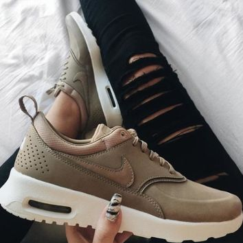 Nike Air Max Thea Premium Desert Camo Casual Sports Shoes-1