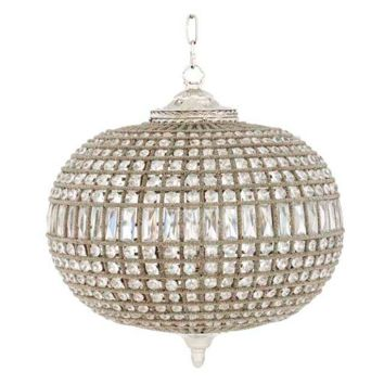 Eichholtz Kasbah Oval Chandelier - Nickel (M)