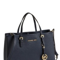 Women's MICHAEL Michael Kors 'Jet Set' East/West Saffiano Leather Tote