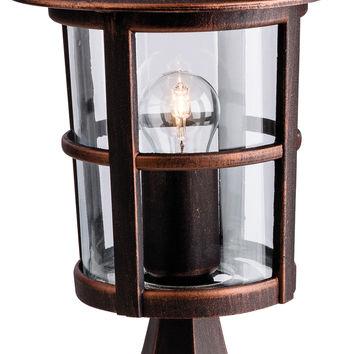 Firstlight 2357BZ Stratford IP44 Outdoor Pillar Lantern