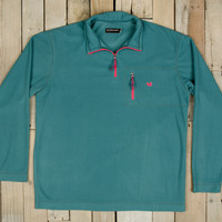 Southern Marsh FieldTec Dune 1/4 Zip Pullover- Dark Green