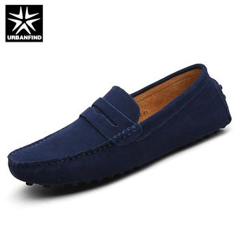 Fashion Men Shoes Leather Men Loafers