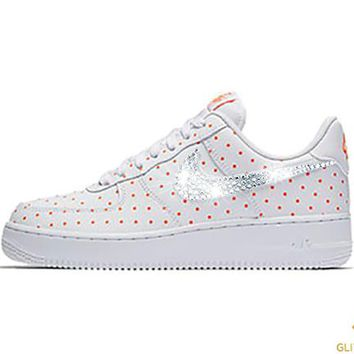 Nike Air Force 1 '07 + Crystals - White/Cone