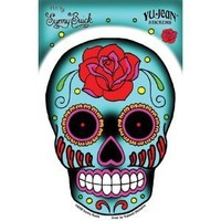 Sunny Buick Rose Sugar Skull Sticker / Decal