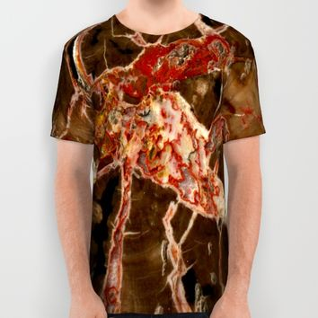 Funky Geology All Over Print Shirt by UMe Images