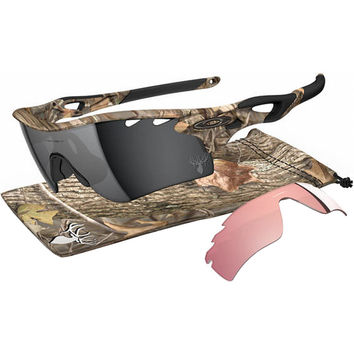 Oakley Radarlock Path King's Woodland Camo Edition Sunglasses Woodland/Black Iridium - G30, One