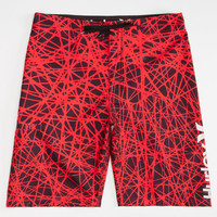 Hurley Force Core Mens Boardshorts Red  In Sizes