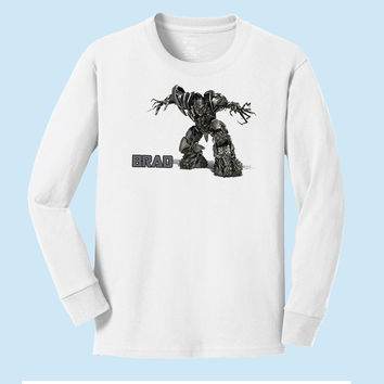Personalized Transformer's Megatron Personalized Long Sleeve T shirt