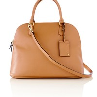 Double Zip Dome Satchel Bag