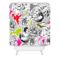 Mary Beth Freet Couture Home Floral 1 Shower Curtain